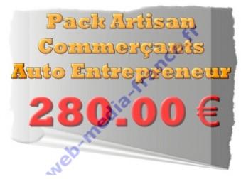 PACK artisan-commerçant et Auto-entrepreneur