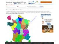 Création annuaire avec carte de France
