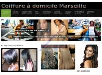 Site internet salon de coiffure et coiffure à domicile