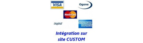 Site internet CUSTOM